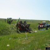 Rollover Car Crash