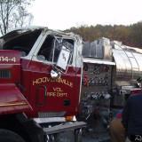Hooversville Tanker Rollover