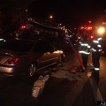Stacked Car Accident