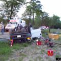 Truck in a Ditch