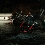 Butte Meadows Tanker Rollover