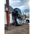 Drunk Driver into House