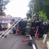 Overturned Vehicle