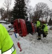 Rollover with Entrapment