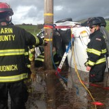 Vehicle Trapped in Flood