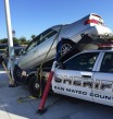 San Mateo's  Sheriffs car involved in crash