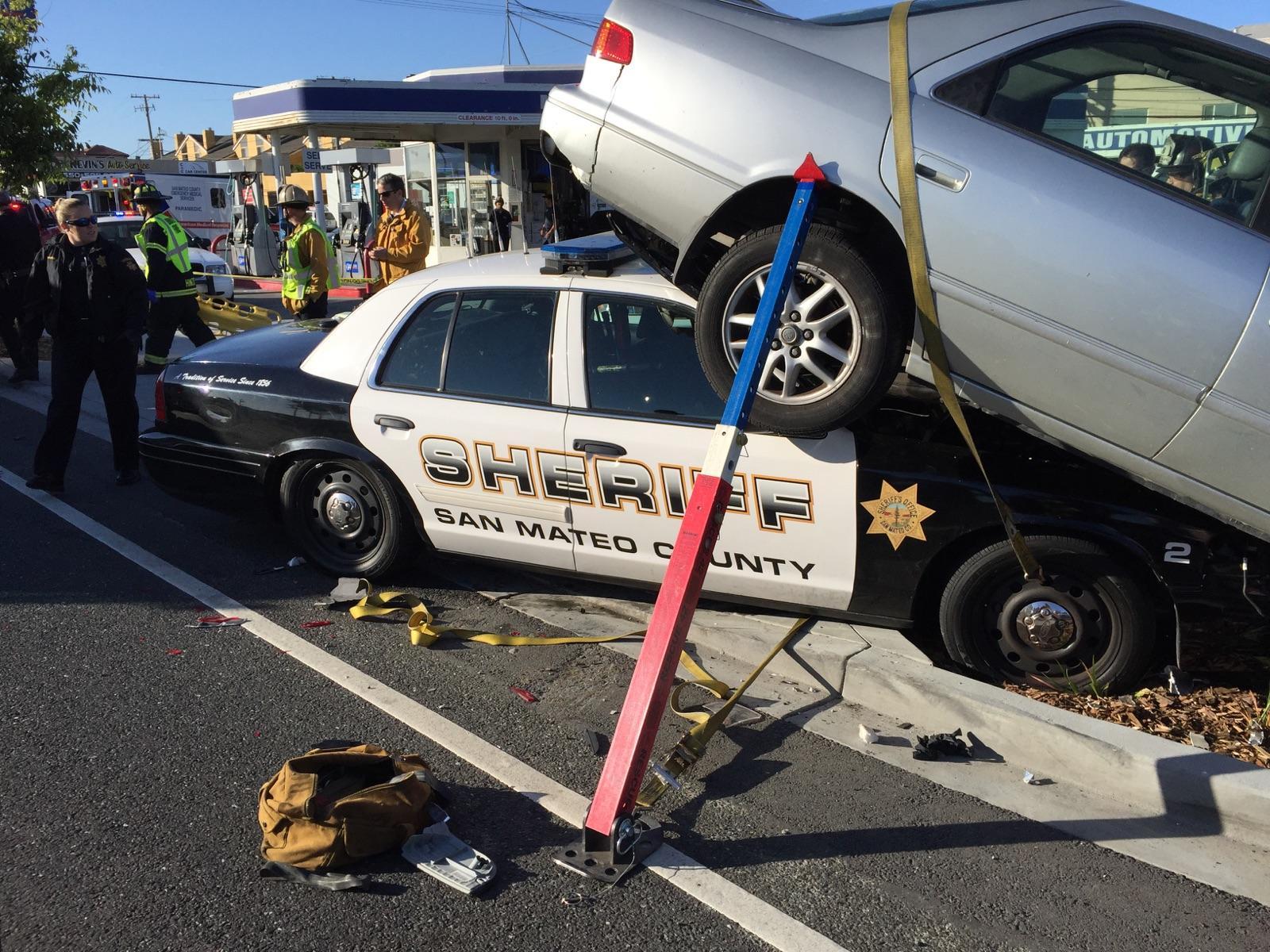 San Mateo El Camino Car Accident