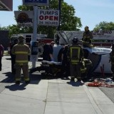 Rollover caused by T Bone