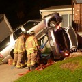 SUV on top of Car