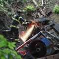 Backhoe Accident