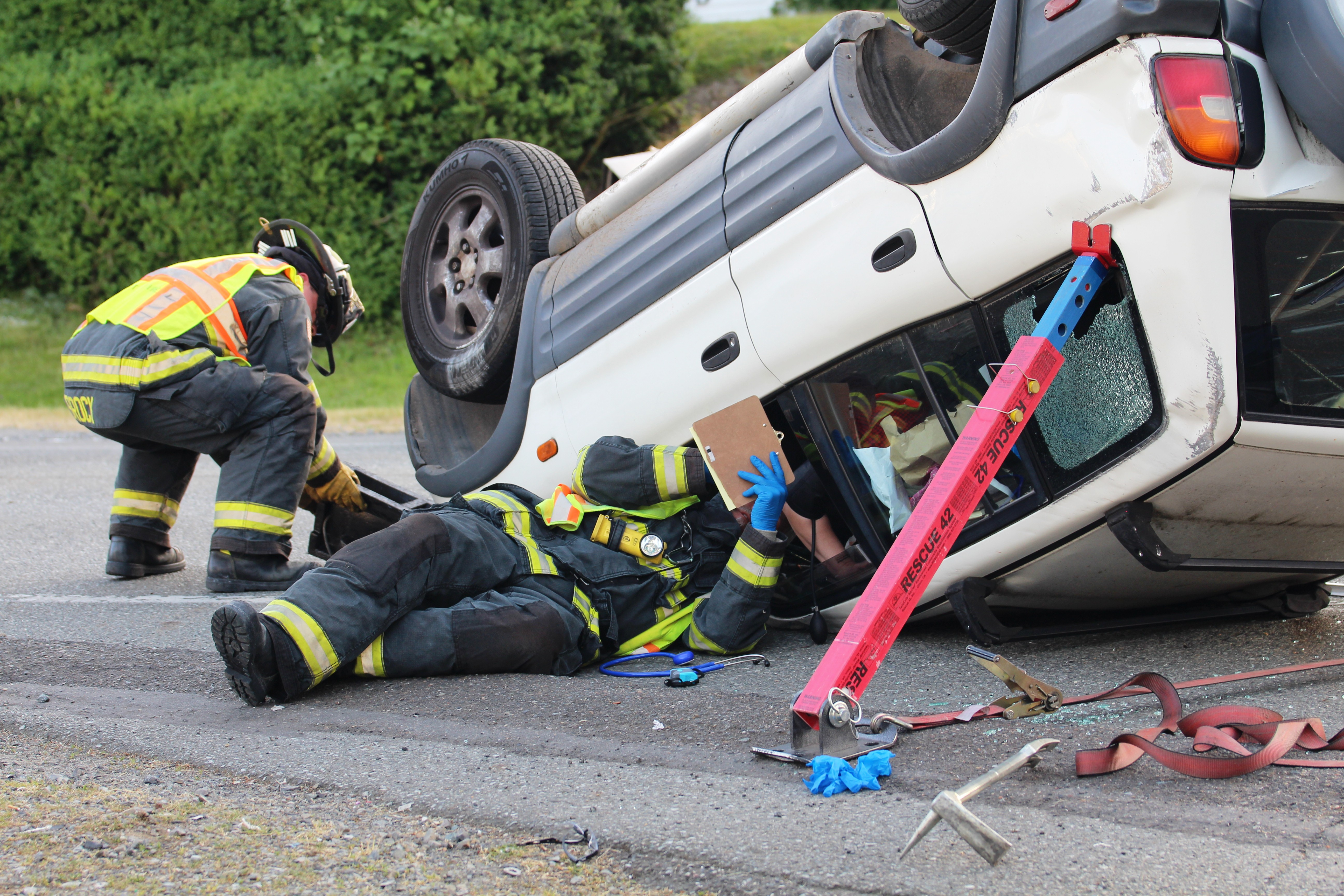 Honda Of Everett >> Double Vehicle Rollover | Rescue 42, Inc. Specializes in ...