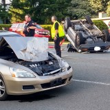 Double Vehicle Rollover
